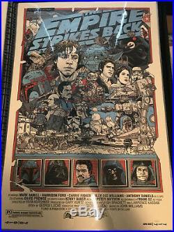 Star Wars Trilogy Tyler Stout Regular Ed. Mint actual pics