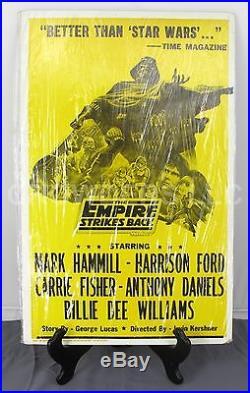 Star Wars V Empire Strikes Back Original Tribune Showprint Playbill Poster 14x22