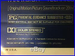 Star Wars movie poster original 1982
