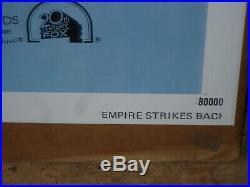 THE EMPIRE STRIKES BACK, nr mint original 1-sh B / movie poster STAR WARS V
