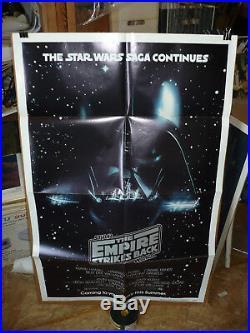 THE EMPIRE STRIKES BACK, orig advance 1-sht / movie poster STAR WARS Episode V