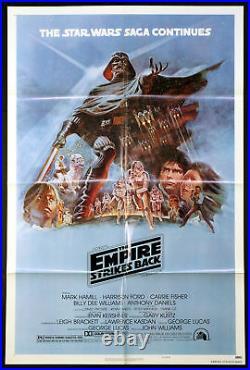 The Empire Strikes Back Star Wars 1980 1-sheet Style B Near Mint