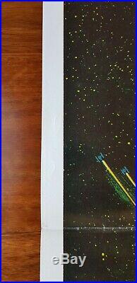 The Empire Strikes Back original one sheet movie poster Star Wars
