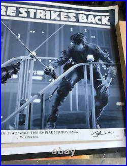 The Making of Star Wars Posture by J W Rinzler (Autographed) 30/150