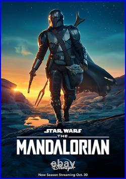 The Mandalorian Original 27x40 Poster One Sheet RARE Star Wars