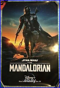 The Mandalorian Star Wars Official 27x40 DS OS Promo Poster C8