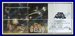 The Mother Of All Star Wars Movie Poster Originals! Only 9 Known! Rare Billboard