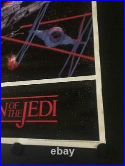 VERY RARE Vintage Star Wars Return of the Jedi Promo Poster Lucasfilm