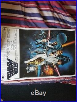 Vintage Star Wars (Episode IV A New Hope) Circa 1977 Original Movie Poster