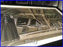 Vintage original Star Wars Empire Strikes Back Ralph McQuarrie 1980 Print Vader